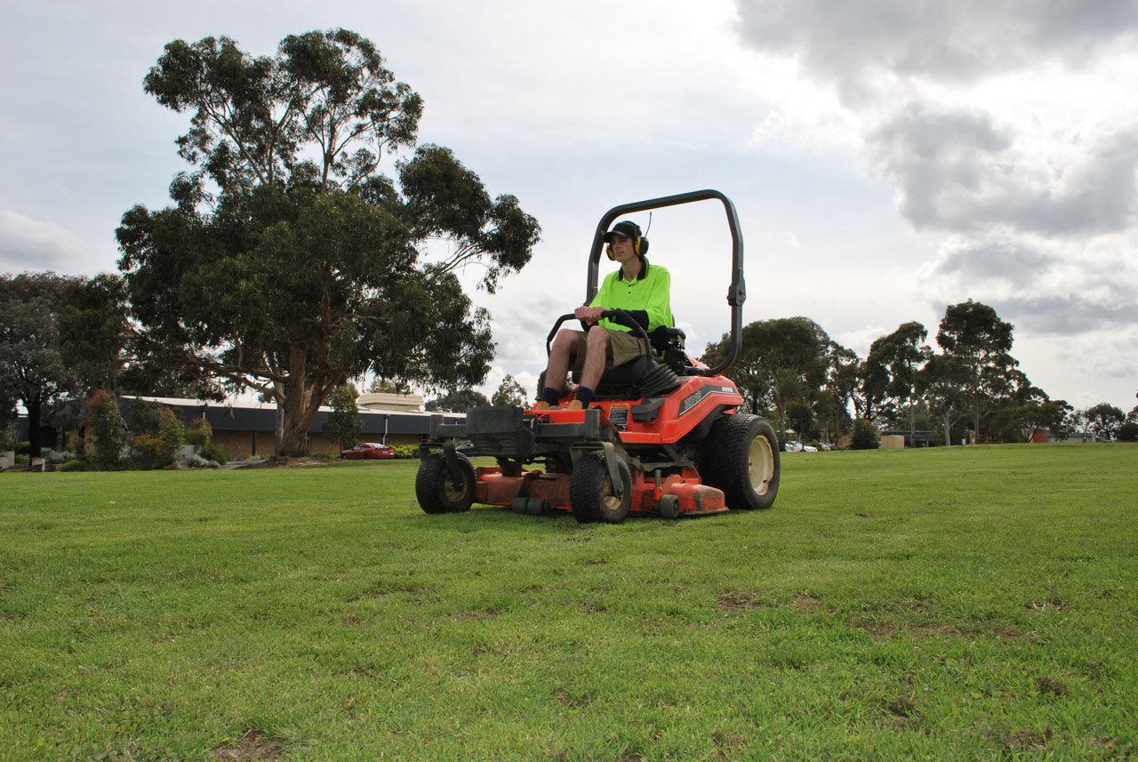 Commercial lawn mowing edging balwyn north greenbelt for Commercial lawn maintenance